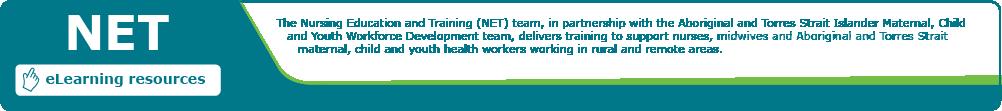NET banner